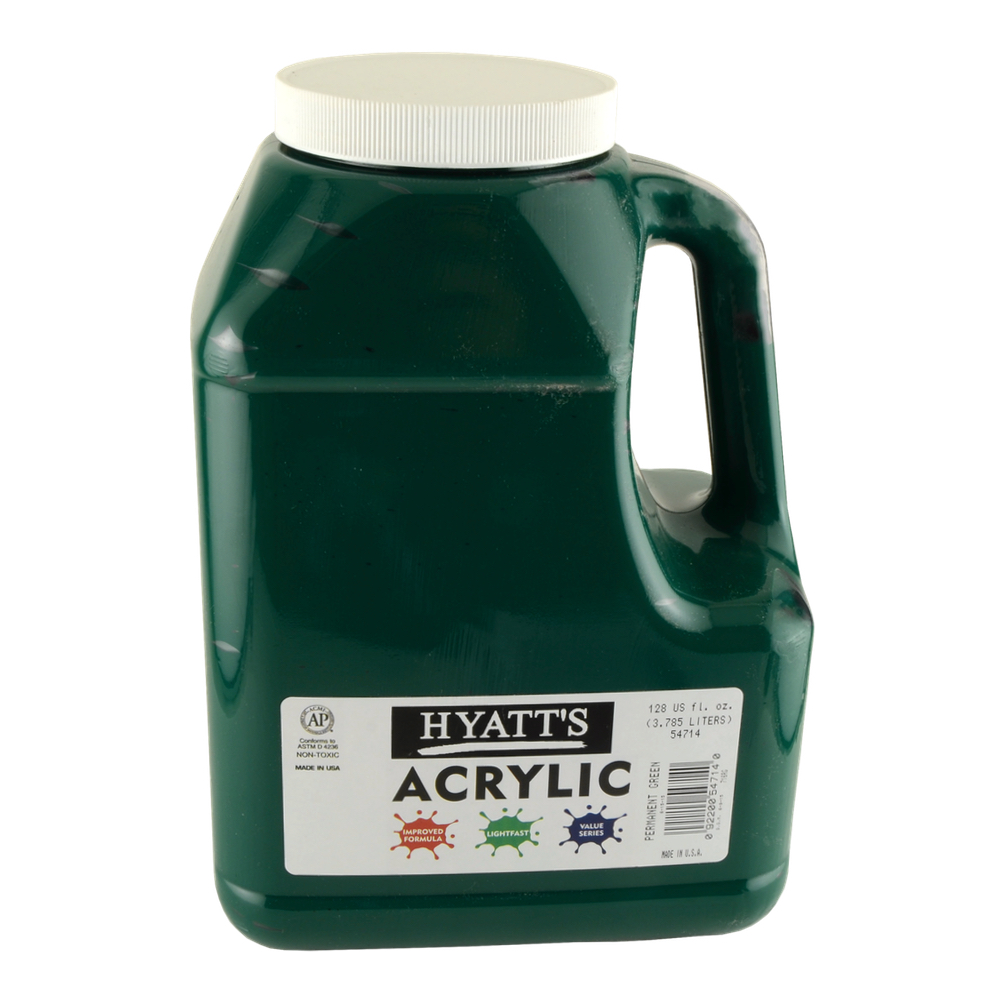 Hyatt's Acrylic Gallon Permanent Green