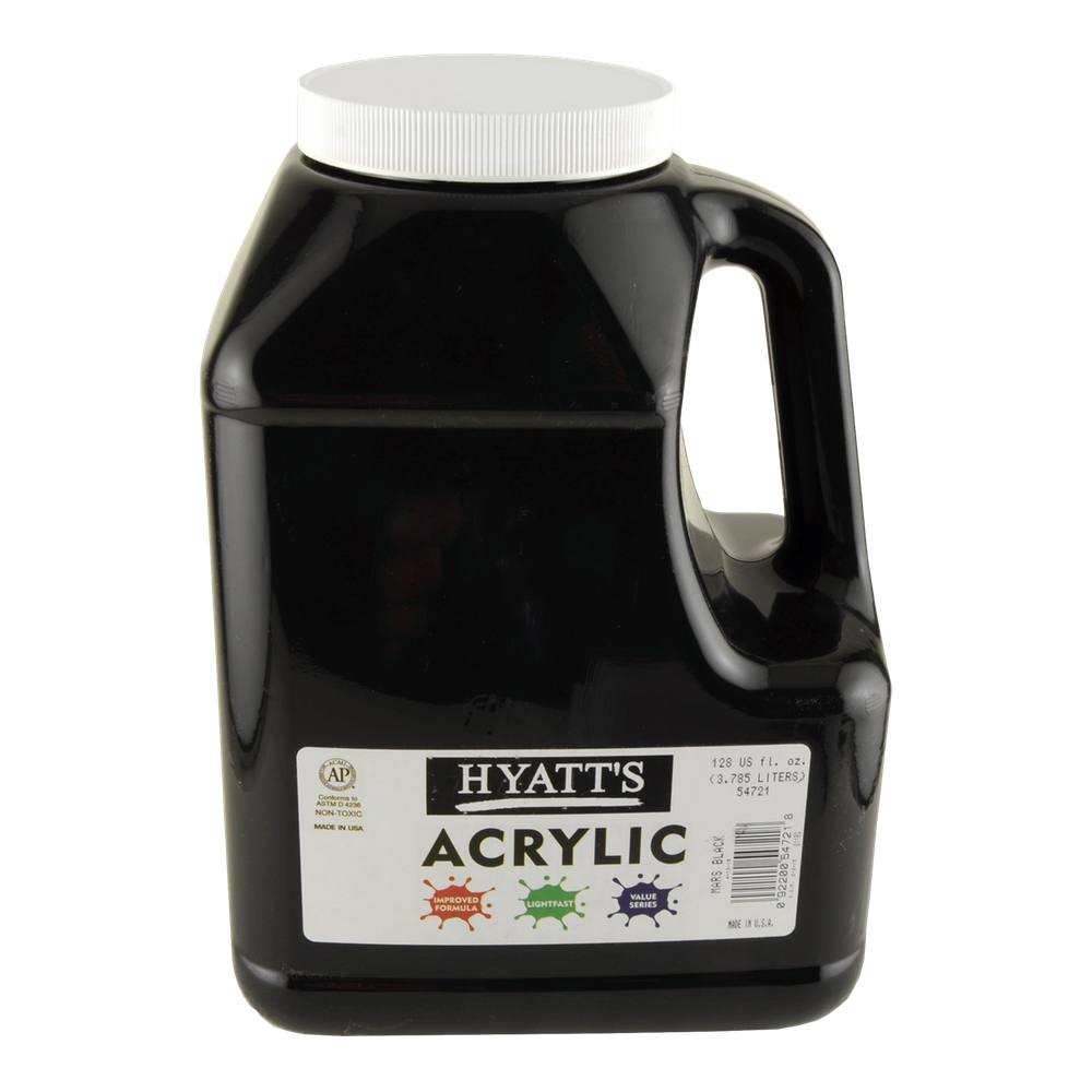 Hyatt's Acrylic Gallon Mars Black