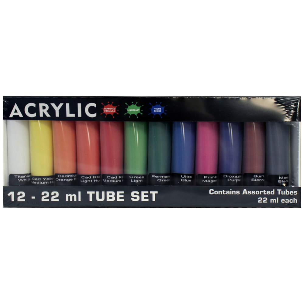 Hyatts Acrylic 22ml Sets