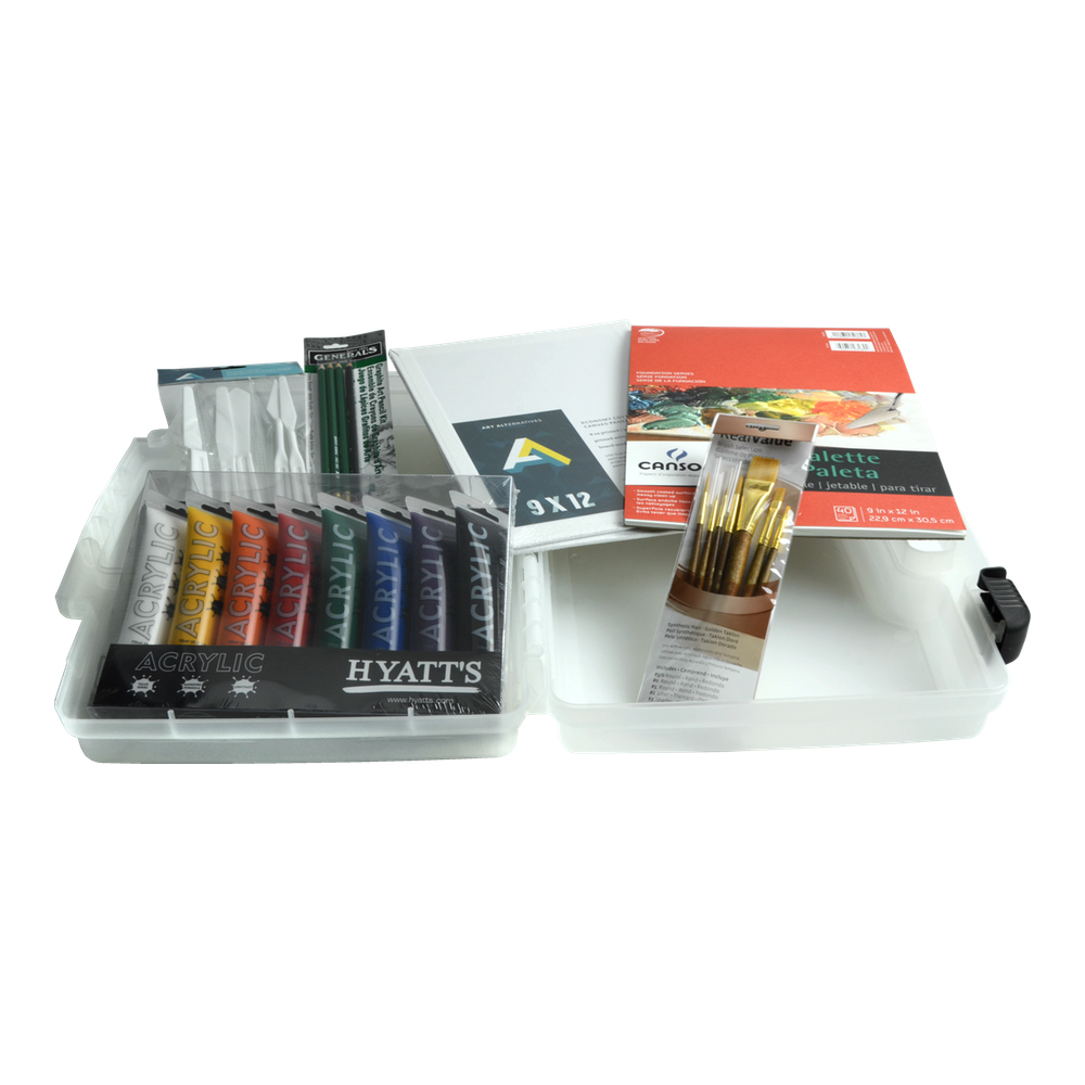 Hyatt's Acrylic Essential Painting Set