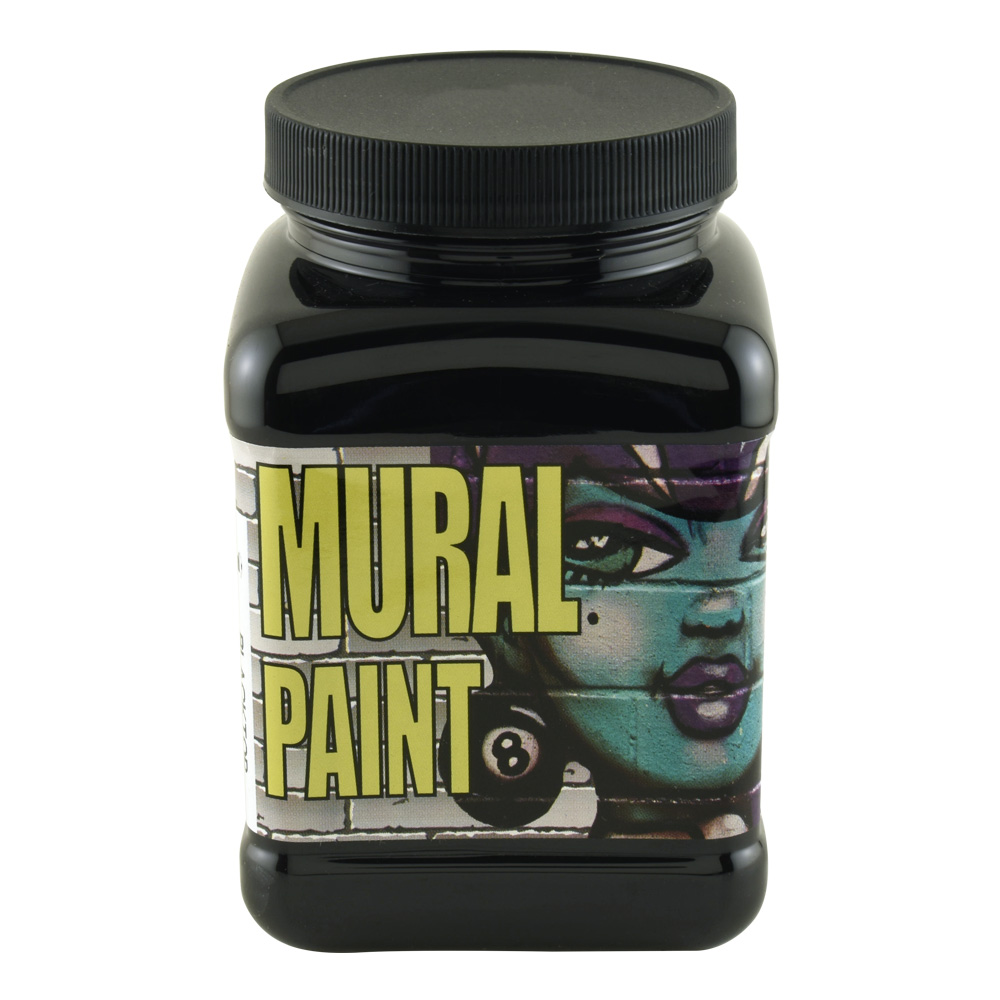 Chroma Mural Paint 16 Oz Blacktop