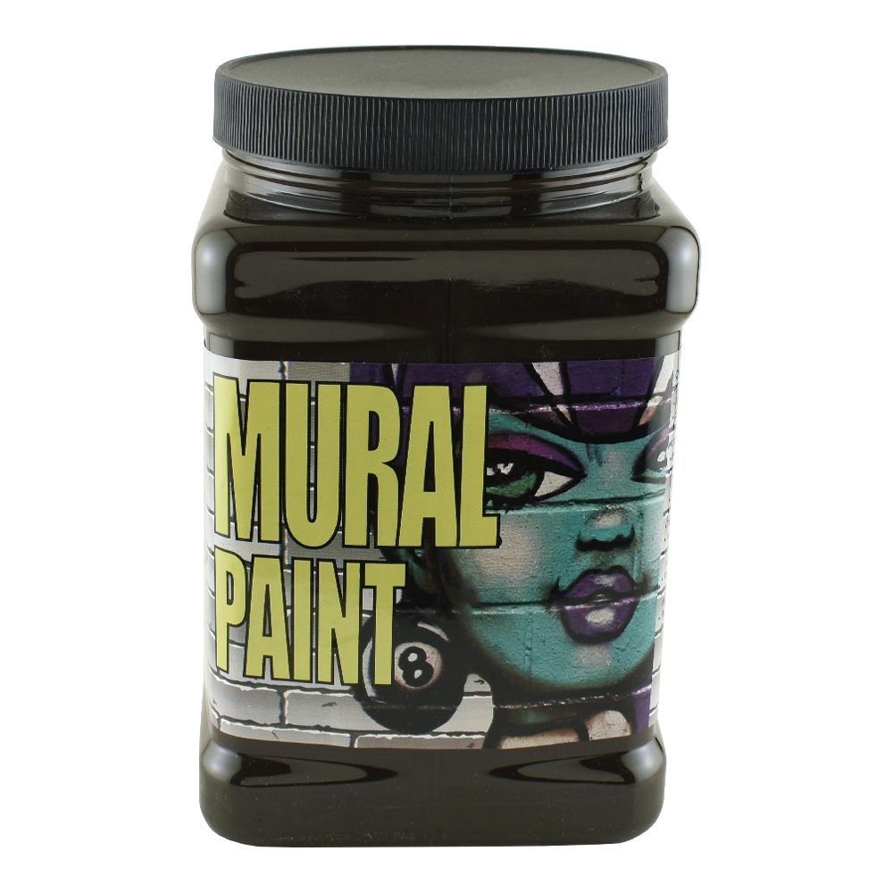 Chroma Mural Paint 1/2 Gal Blacktop