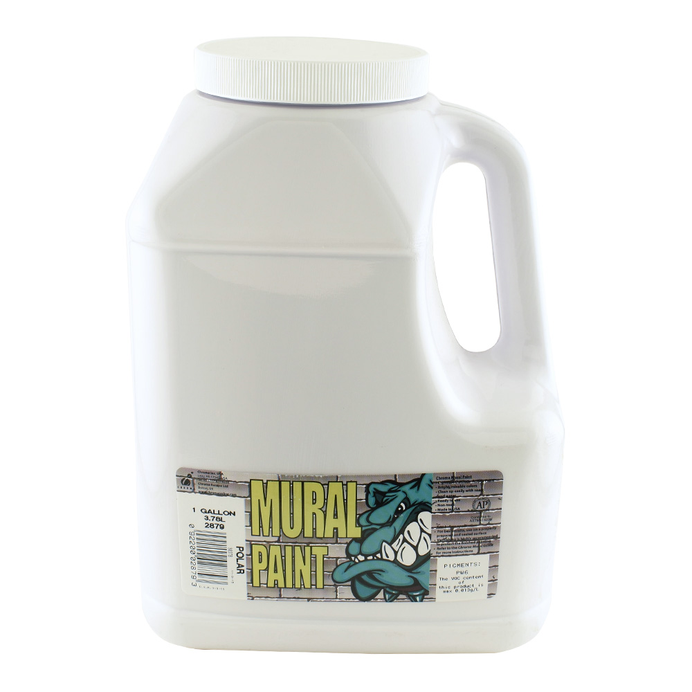 Chroma Mural Paint Gallon Polar