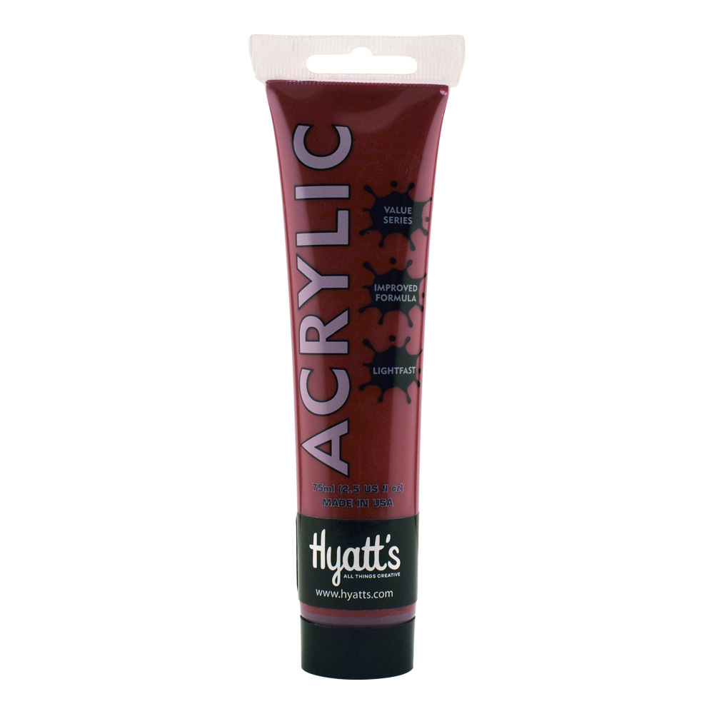 Hyatt's Acrylic 75Ml Cadmium Red Deep