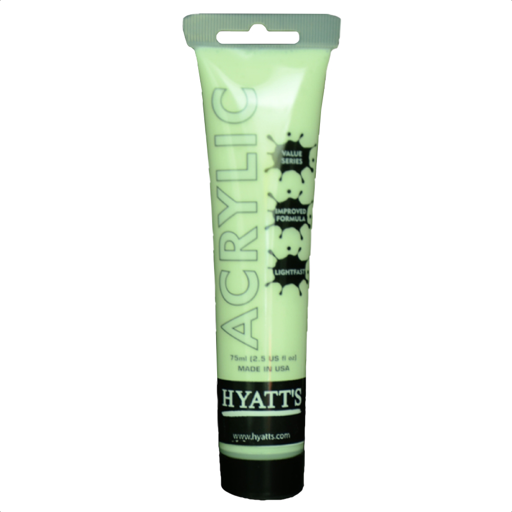 Hyatt's Acrylic 75Ml Glow In The Dark