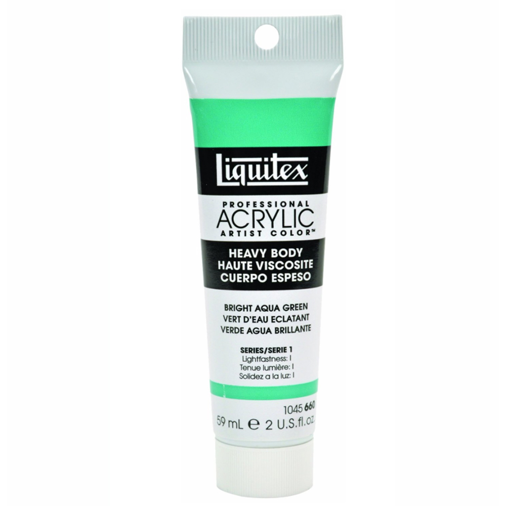 Liquitex Hvy Acrylic 2 Oz Bright Aqua Green