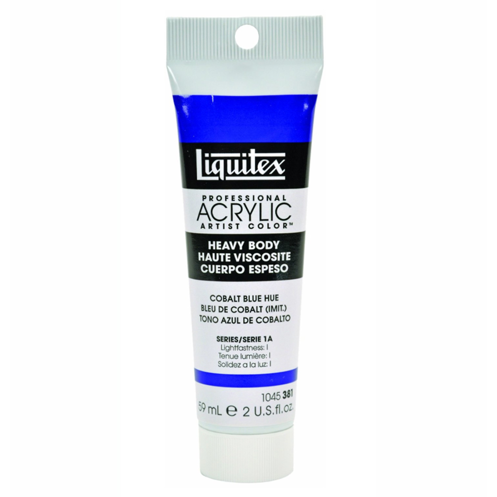 Liquitex Soft Acryl 2 Oz Cobalt Blue Hue