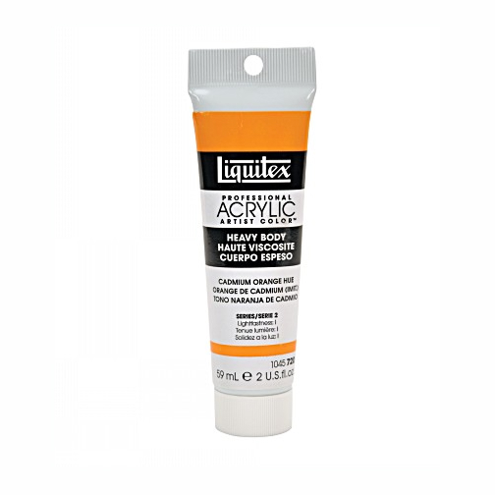 Liquitex Soft Acryl 2 Oz Cad Orange Hue