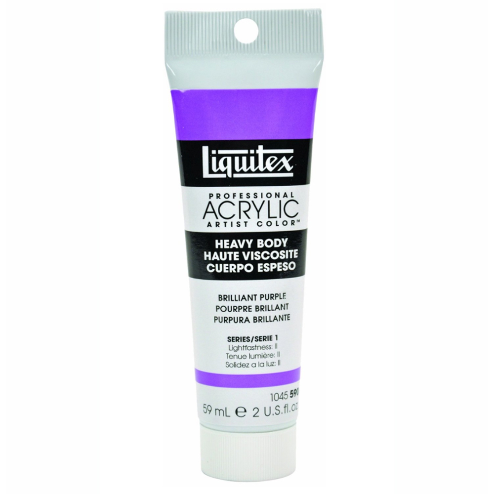 Liquitex Hvy Acrylic 2 Oz Brilliant Purple