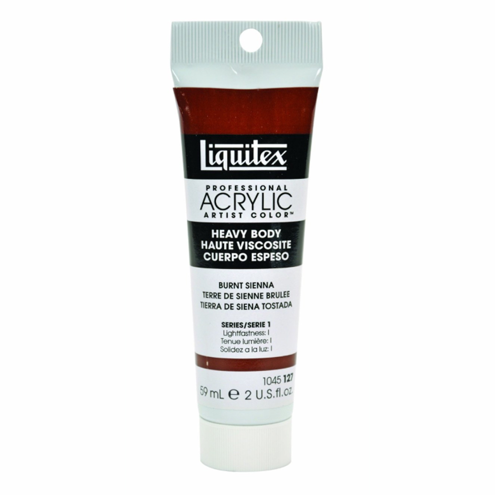 Liquitex Soft Acryl 32 Oz Jar Burnt Sienna