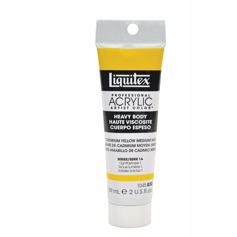 Liquitex Soft Acryl 2 Oz Cad Yellow Med Hue