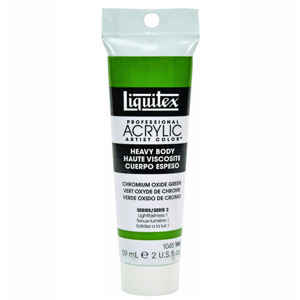 Liquitex Soft Acryl 2 Oz Chrome Oxide Green