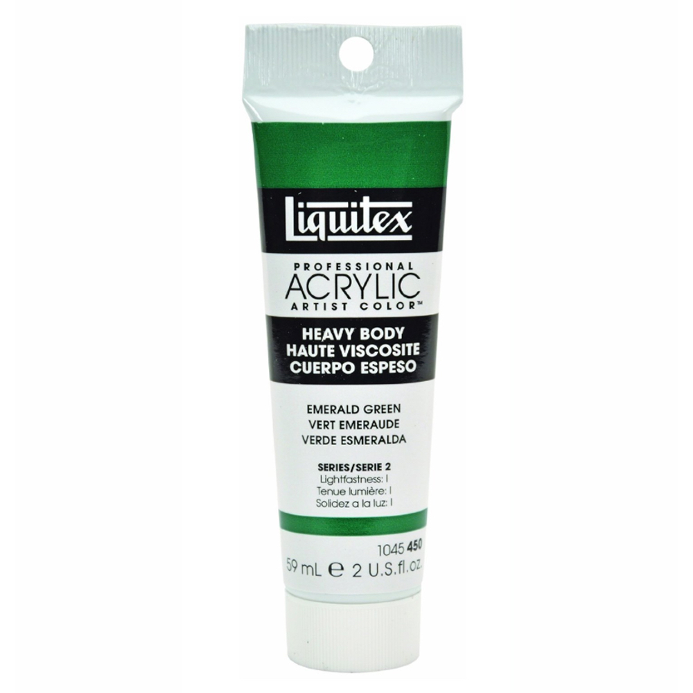 Liquitex Hvy Acrylic 2 Oz Emerald Green