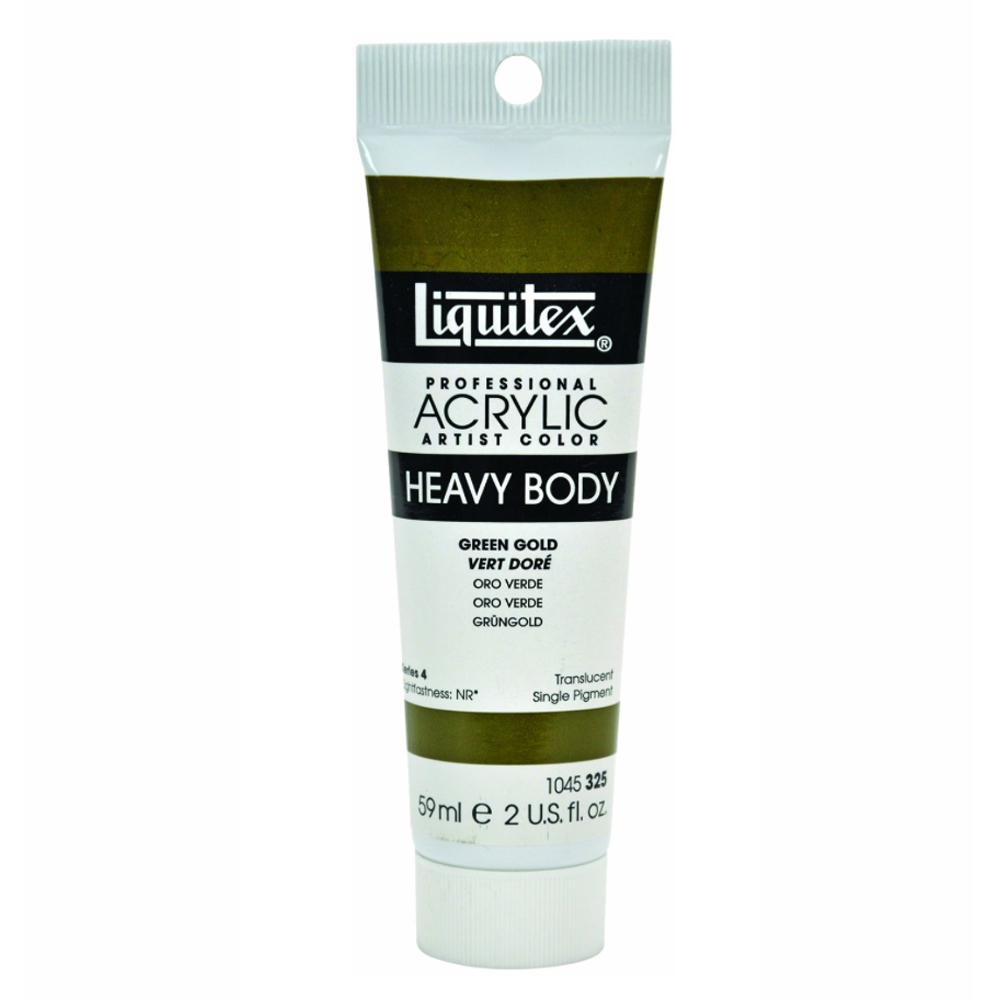 Liquitex Hvy Acrylic 2 Oz Green Gold