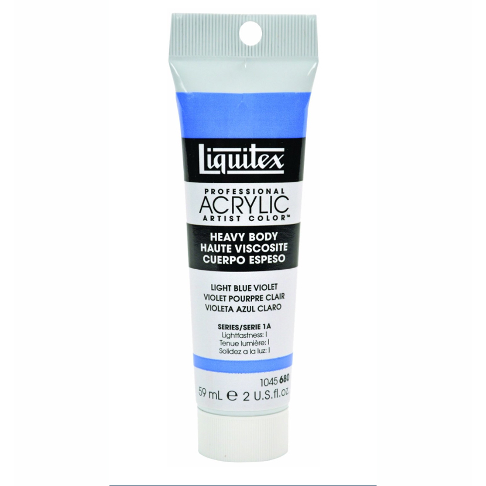 Liquitex Hvy Acrylic 2 Oz Light Blue Violet