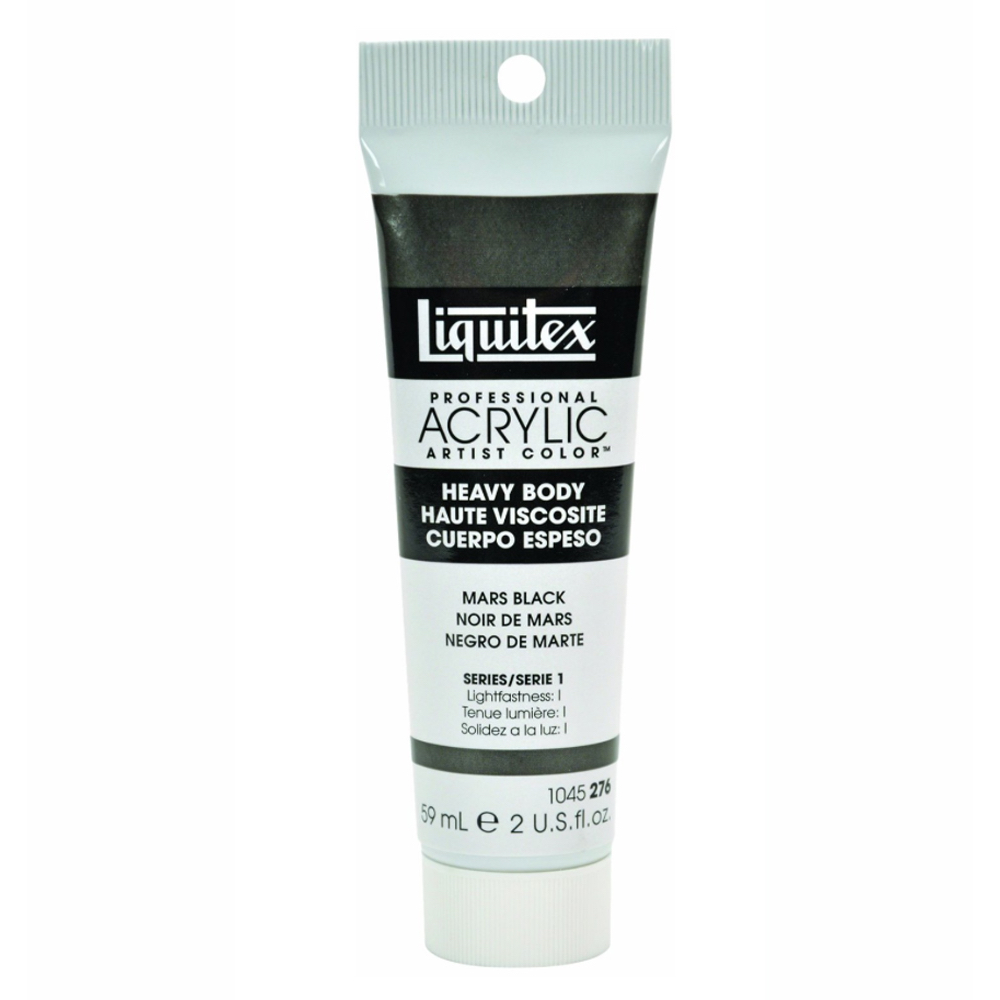Liquitex Soft Acryl 2 Oz Mars Black