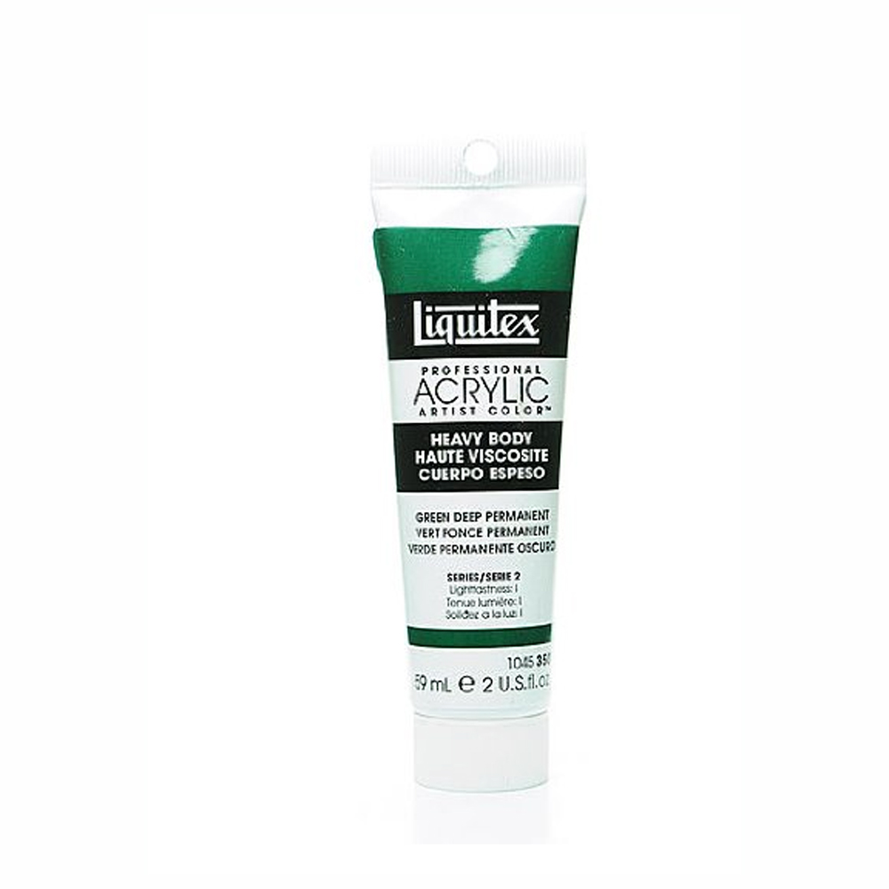 Liquitex Hv Acryl 2 Oz Permanent Green Deep