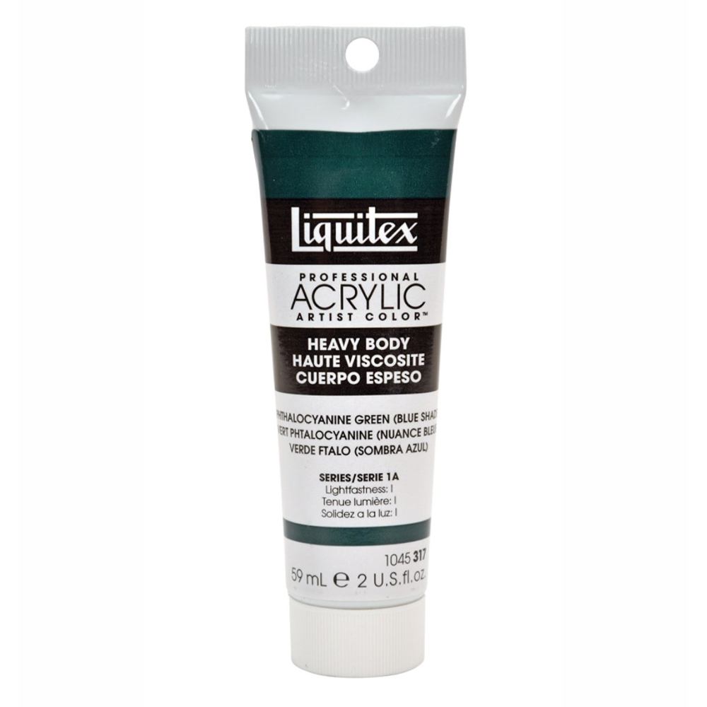 Liquitex Hv Acryl 2 Oz Phthalo Green (blue)