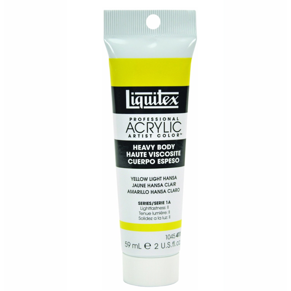 Liquitex Hvy Acrylic 2 Oz Yellow Light Hansa