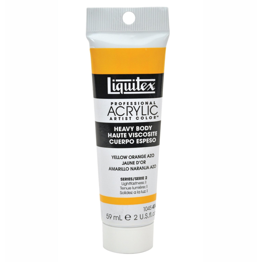 Liquitex Hvy Acrylic 2 Oz Yellow Orange Azo
