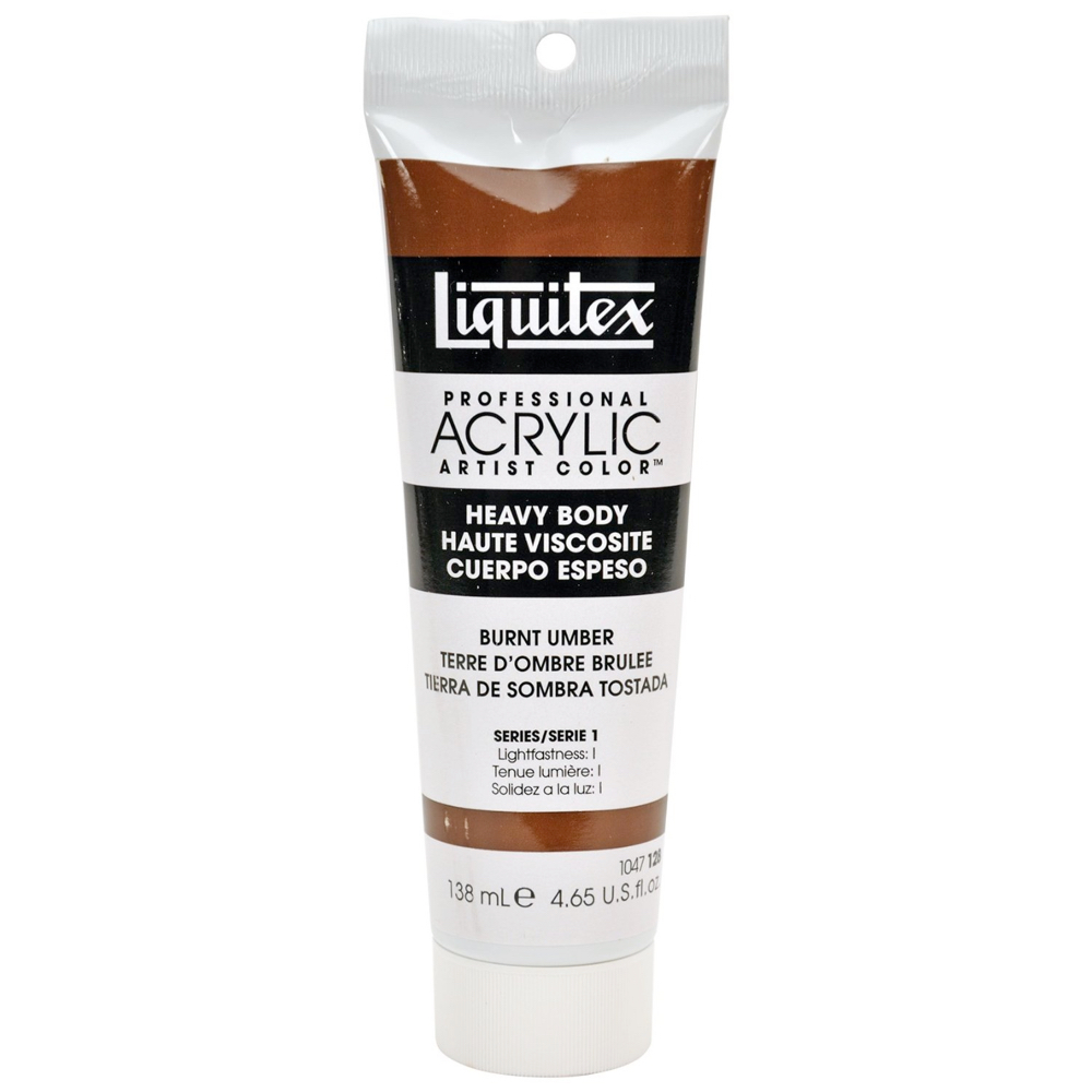 Liquitex Hvy Acrylic 4.65 Oz Burnt Umber