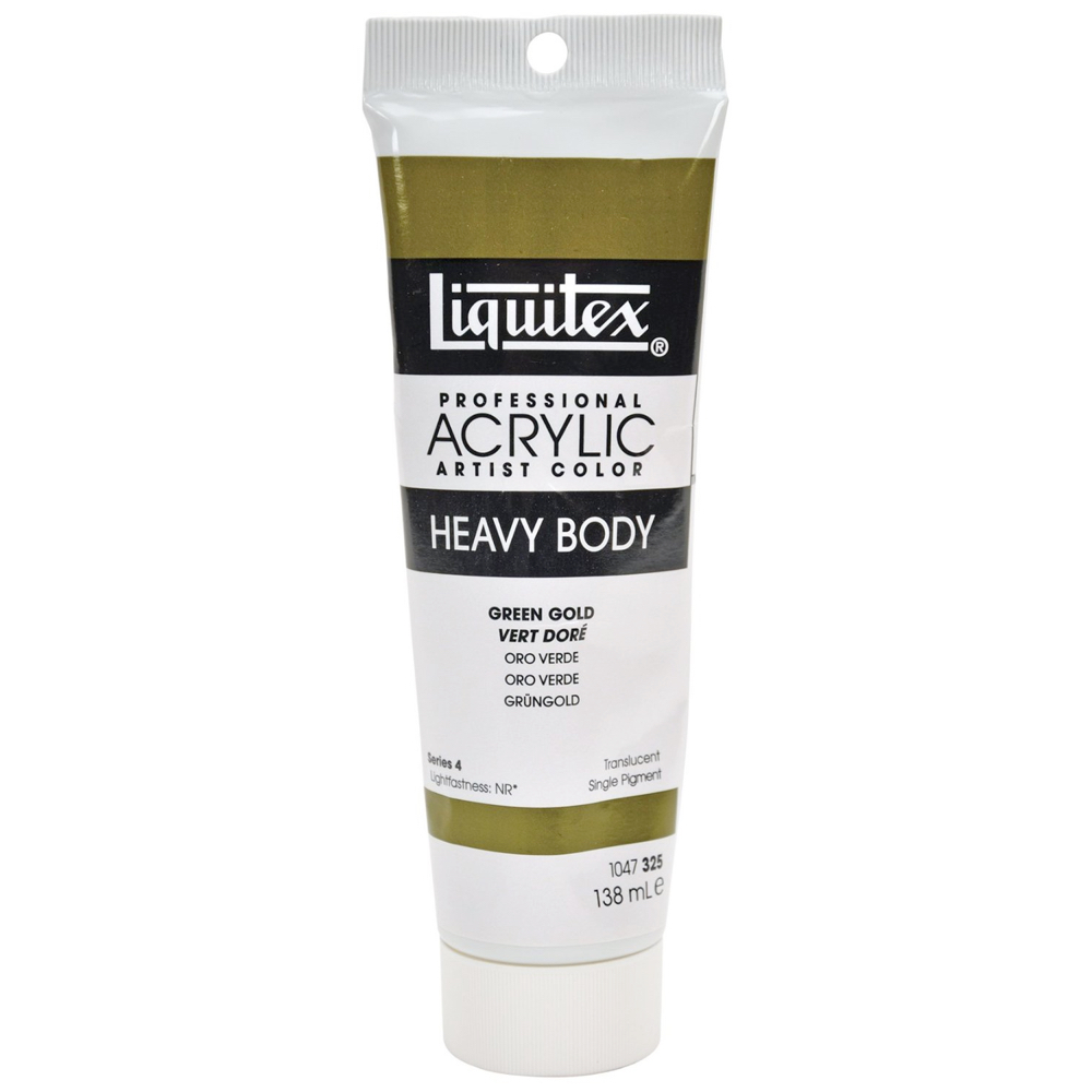 Liquitex Hvy Acrylic 4.65 Oz Green Gold