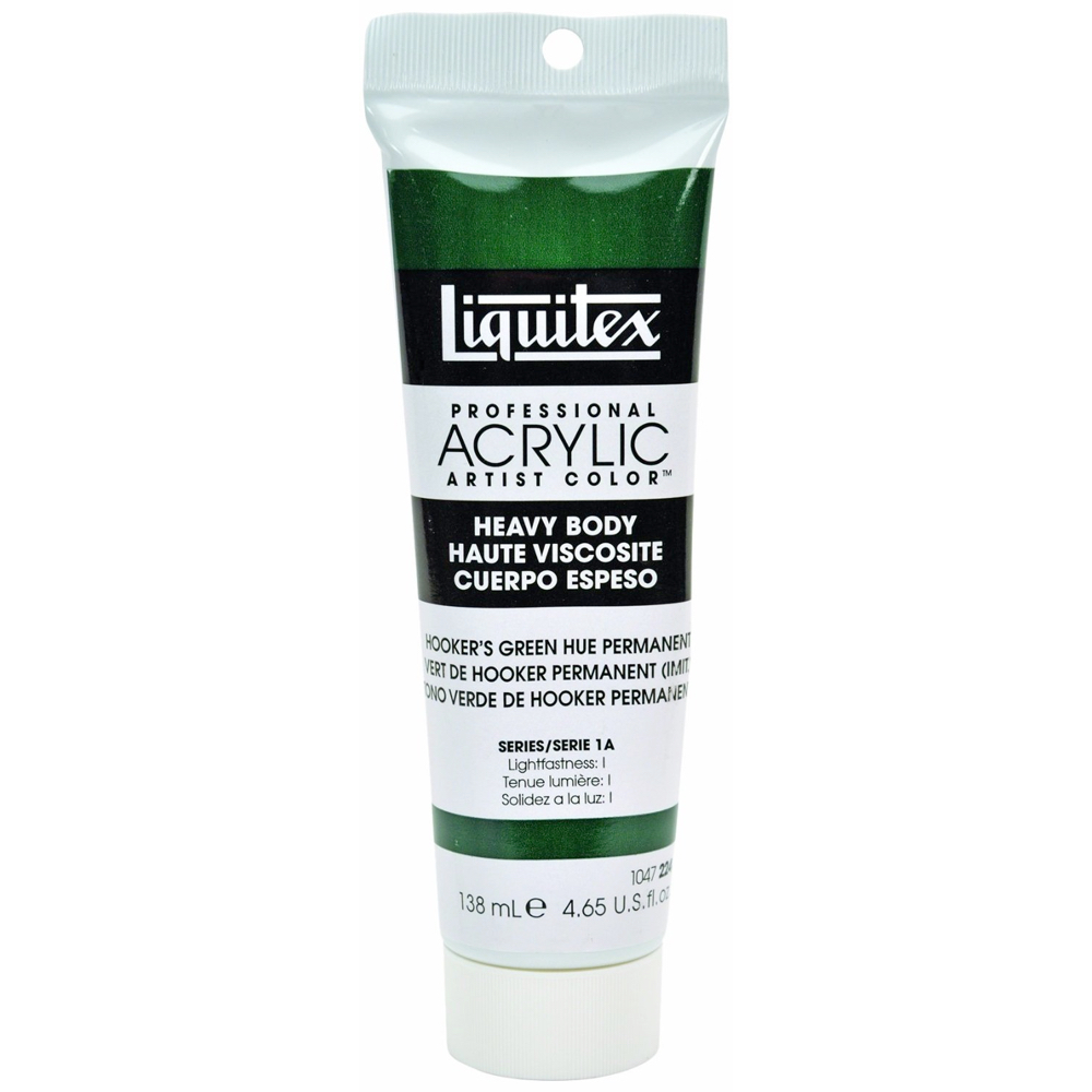 Liquitex Hv Acryl 4.65 Oz Hookers Green Hue