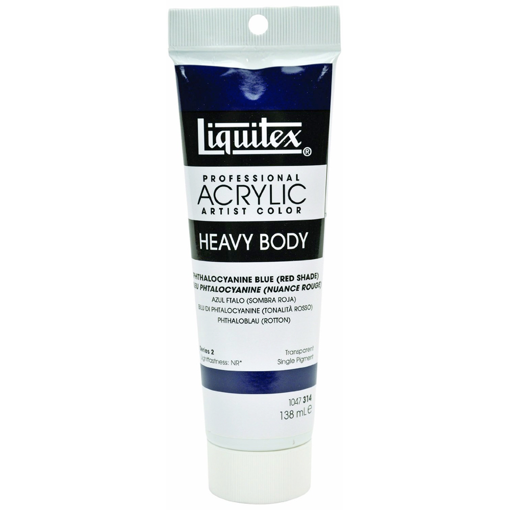 Liquitex Hvy Acrylic 4.65 Oz Phth Blue (red)