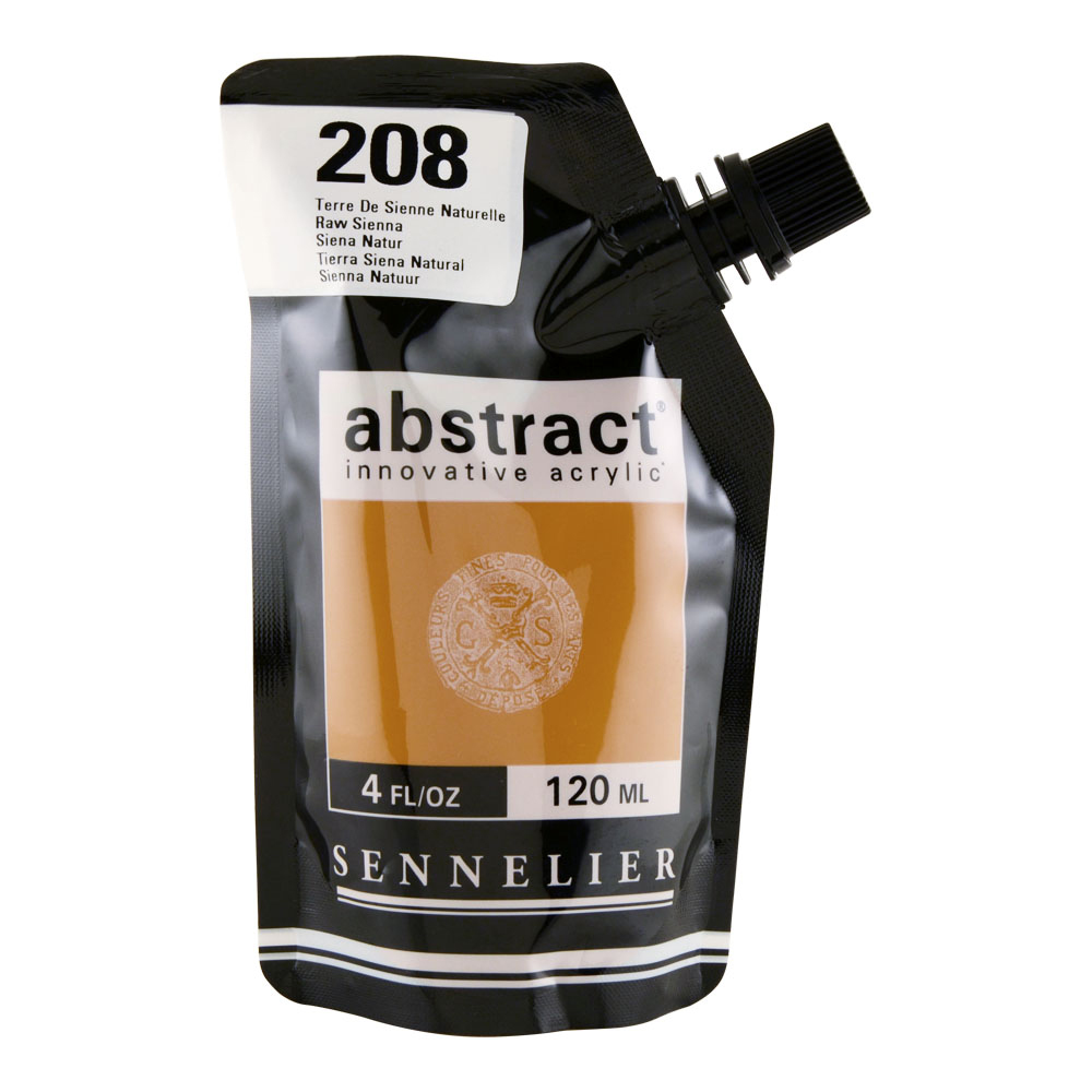 Abstract Acrylic 120ml Raw Sienna