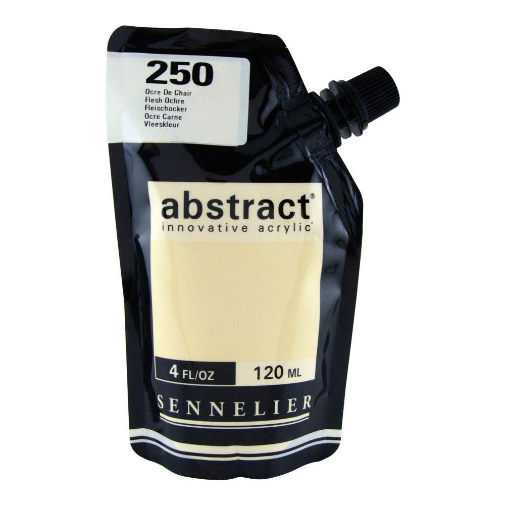 Abstract Acrylic 120ml Flesh Ochre