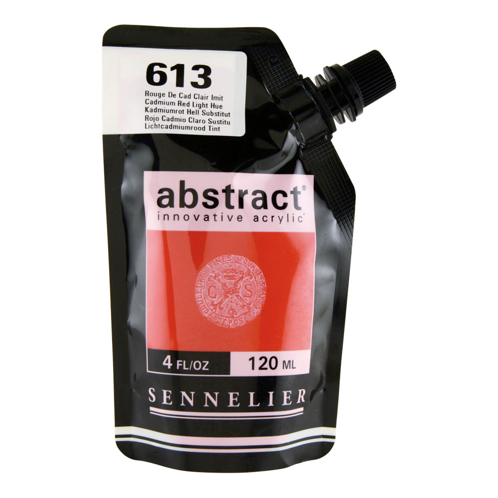 Abstract Acrylic 120ml Cadmium Red Light Hue