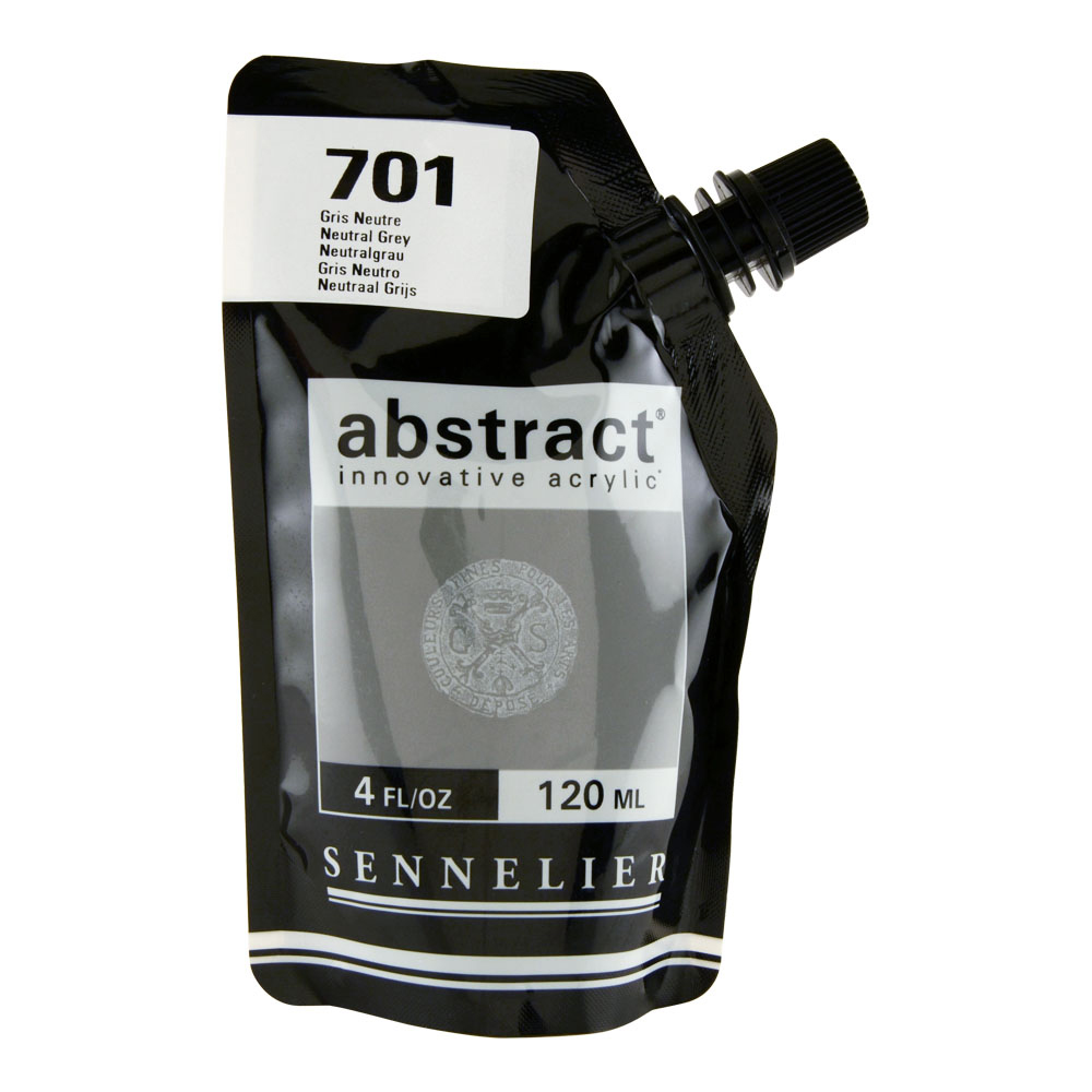 Abstract Acrylic 120ml Neutral Gray