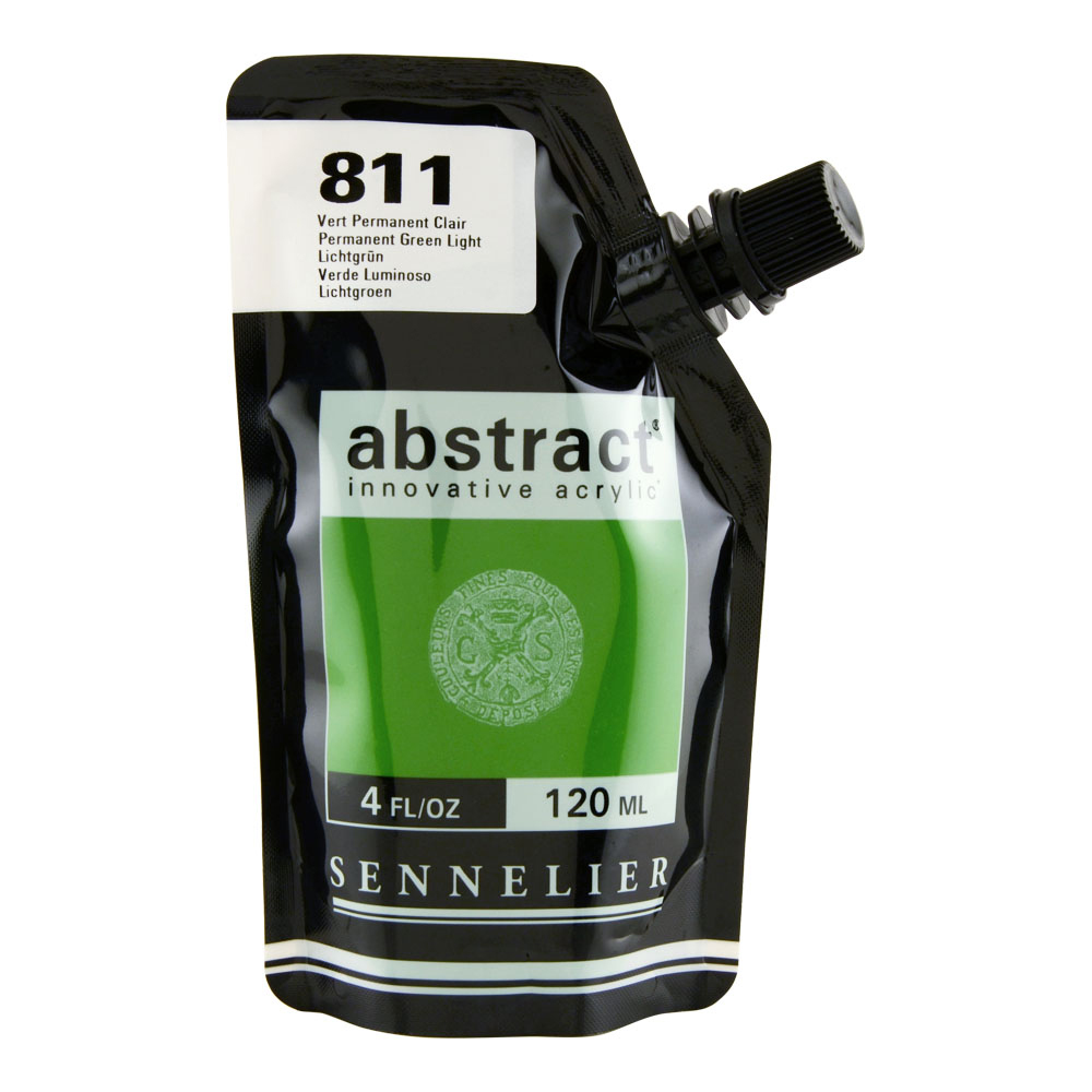 Abstract Acrylic 120ml Permanent Green Light