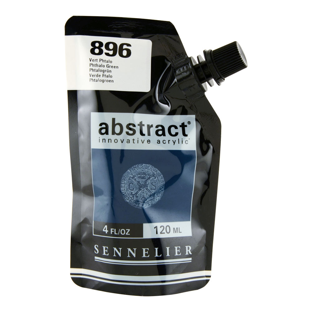 Abstract Acrylic 120ml Phthalo Green