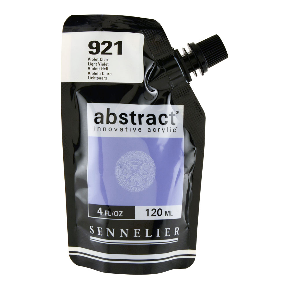 Abstract Acrylic 120ml Light Violet