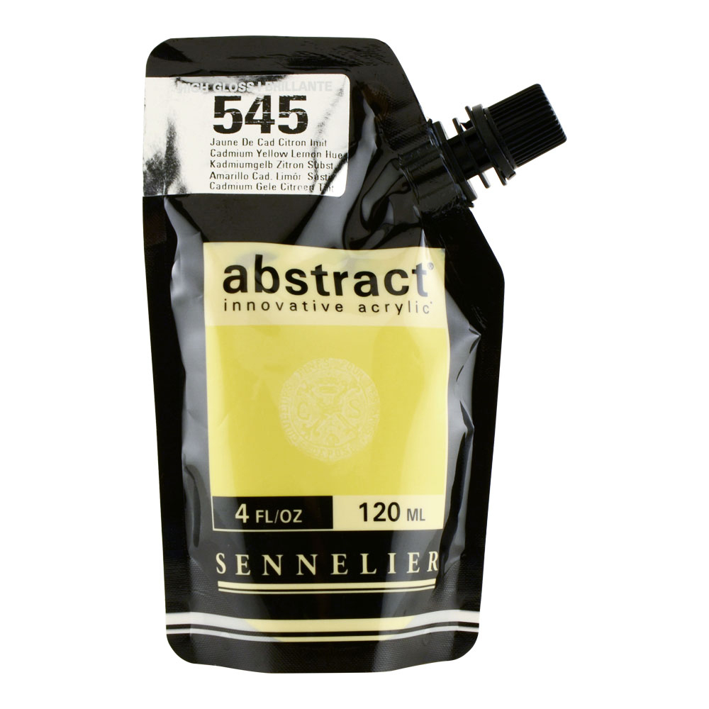 Abstract Acrylic 120ml Gloss Cad Ylw Lmn Hue