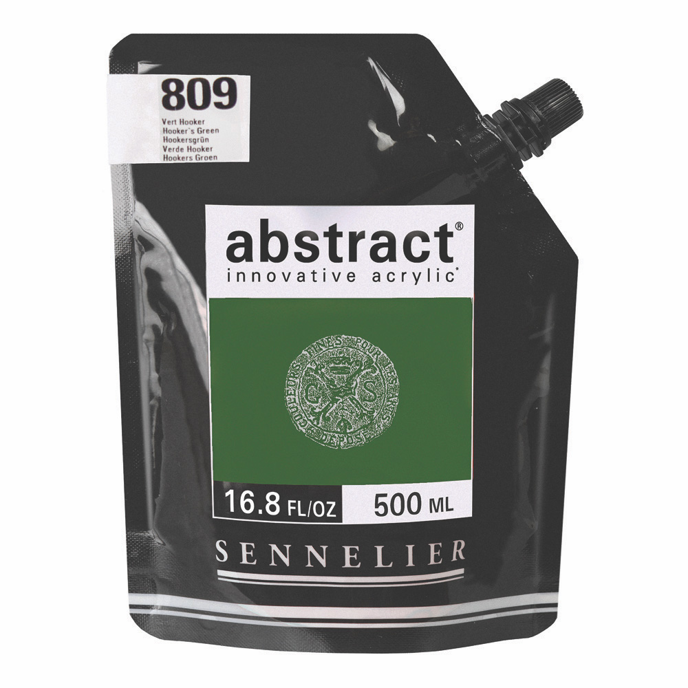 Abstract Acrylic Hooker's Green 500ml
