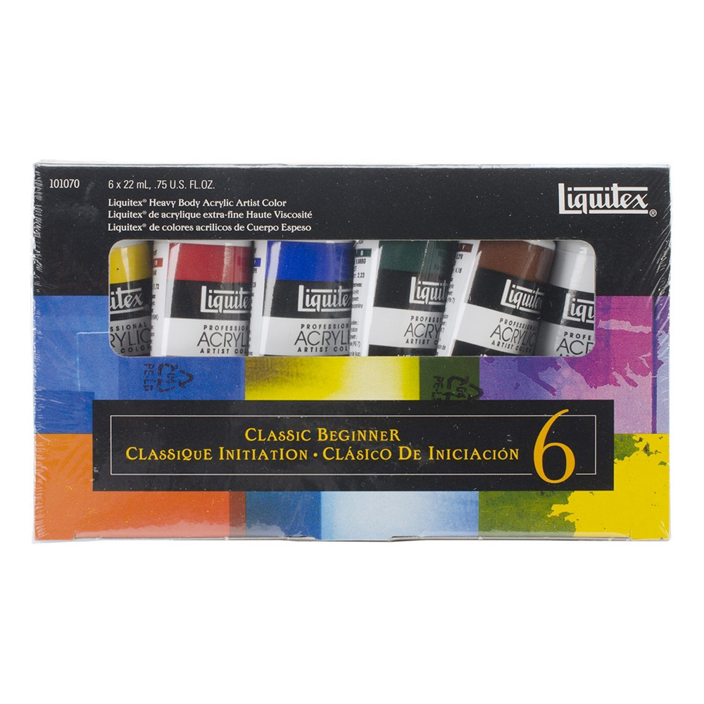 Liquitex Heavy Acrylic Primary Set 1070