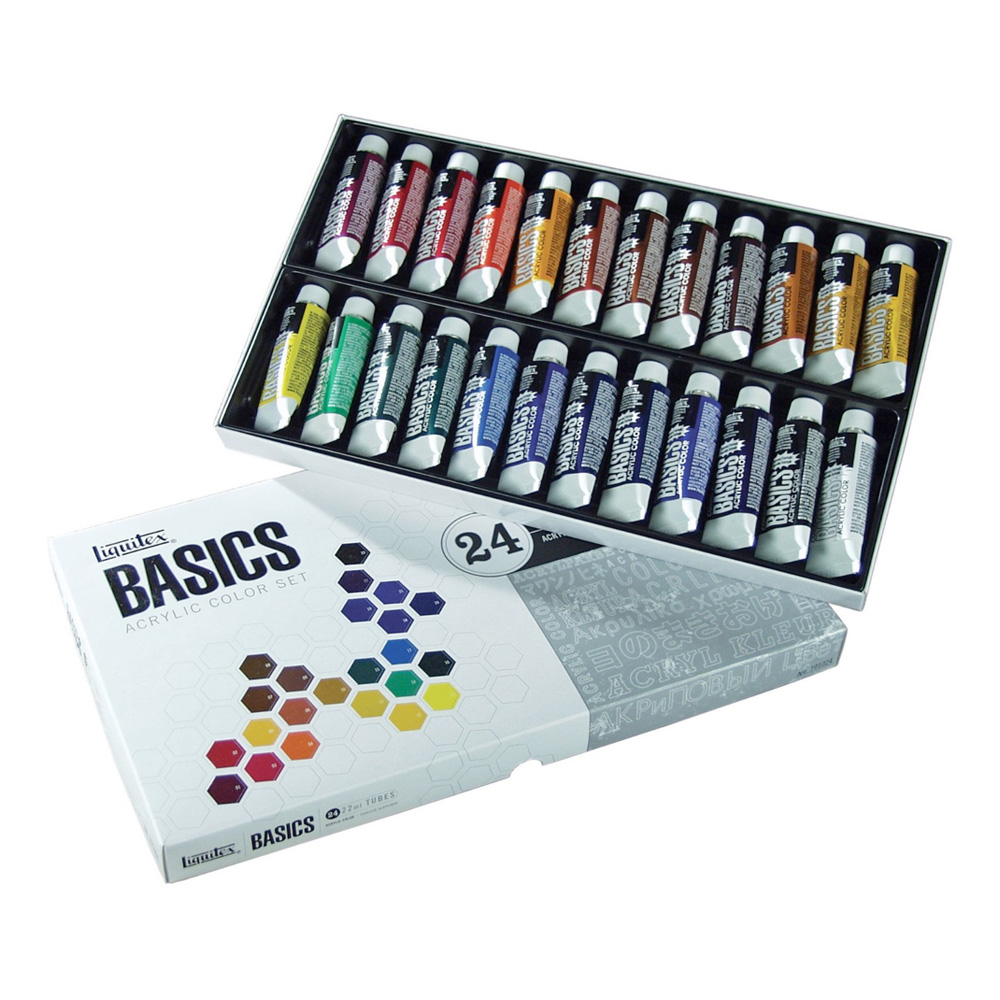 Basics Acrylic 24 Color 22Ml Set