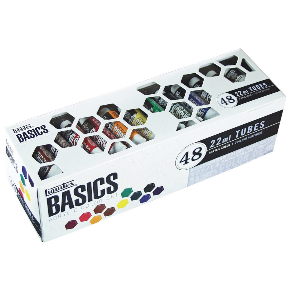 Basics Acrylic 48 Color 22Ml Set