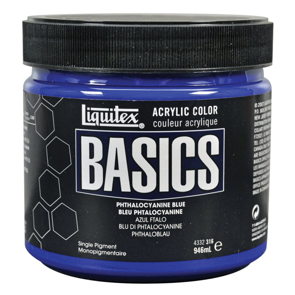 Basics Acrylic 32oz Jars