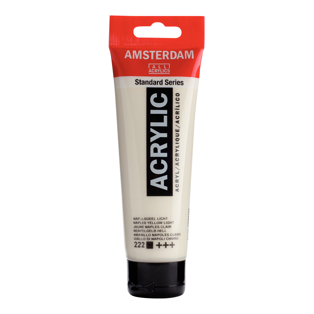 Amsterdam Acrylic 120Ml Naples Yellow Lt