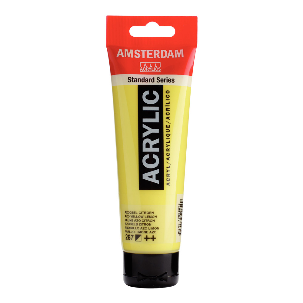 Amsterdam Acrylic 120Ml Azo Yellow Lemon