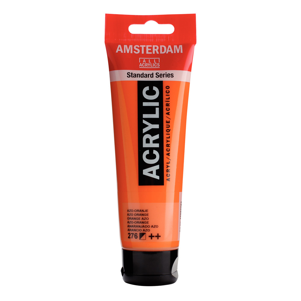 Amsterdam Acrylic 120Ml Azo Orange