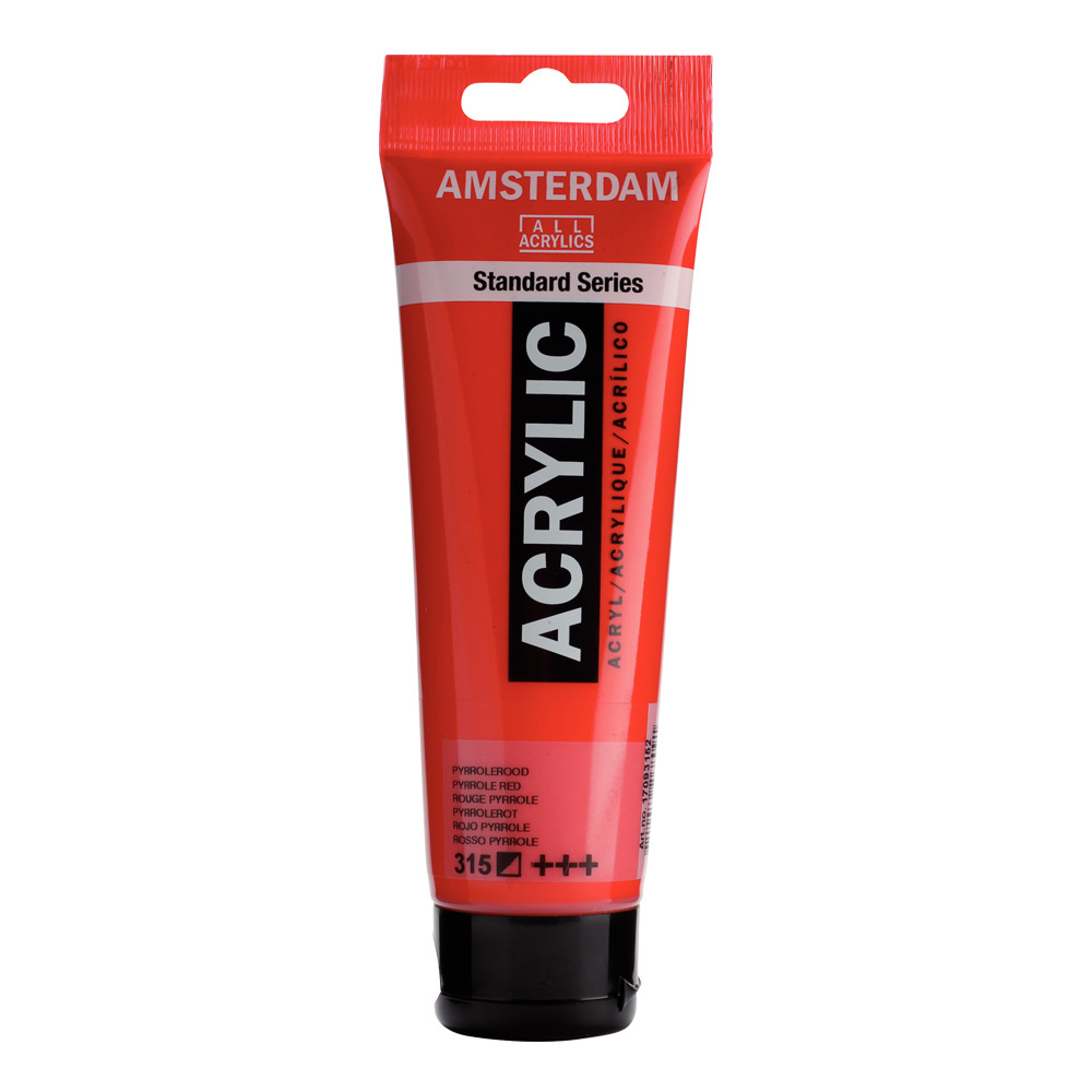Amsterdam Acrylic 120Ml Pyrrole Red