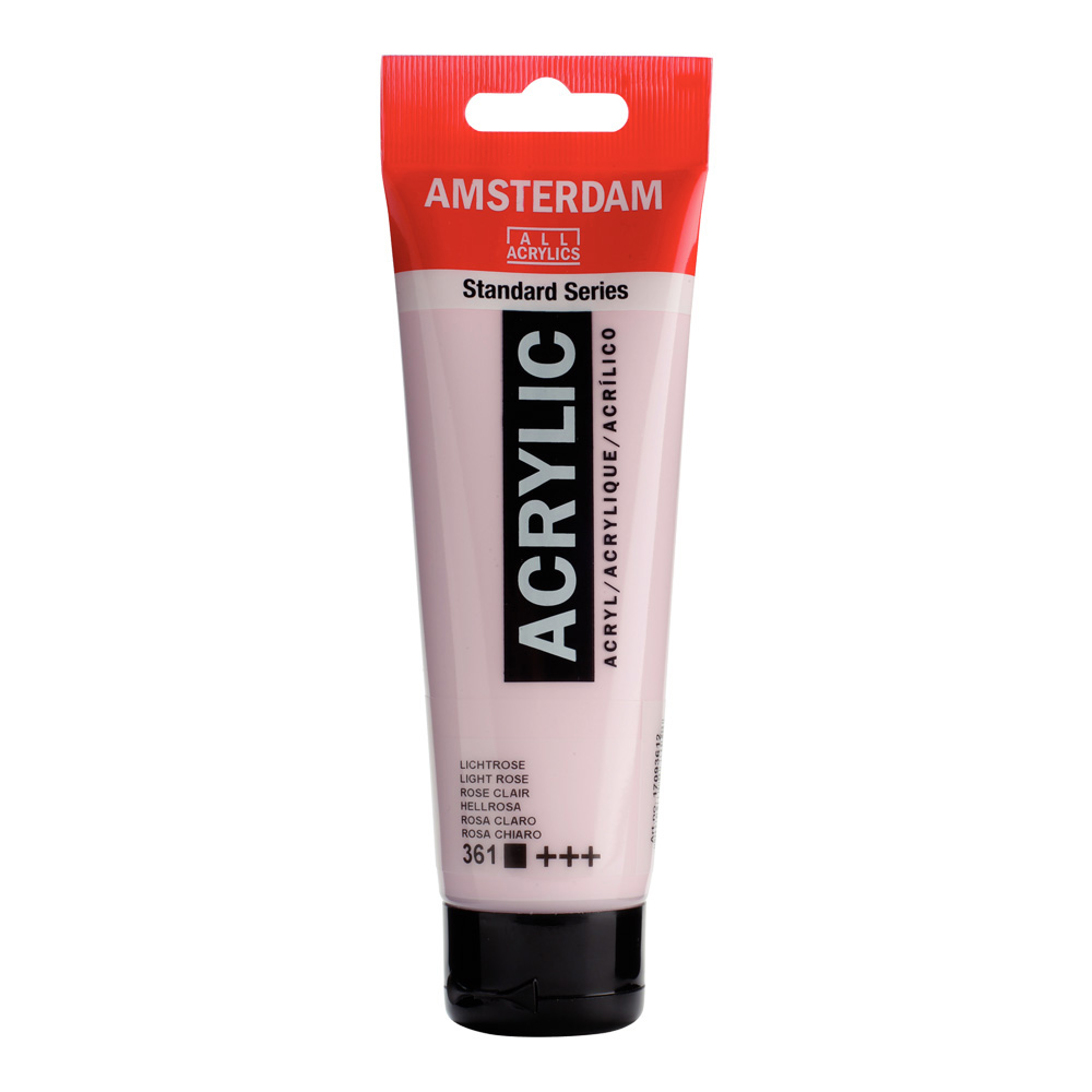 Amsterdam Acrylic 120Ml Light Rose