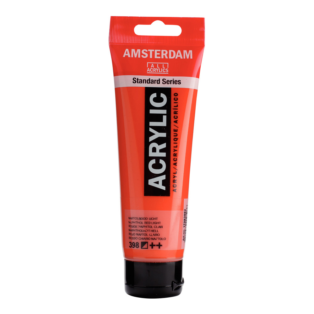 Amsterdam Acrylic 120Ml Naphthol Red Light