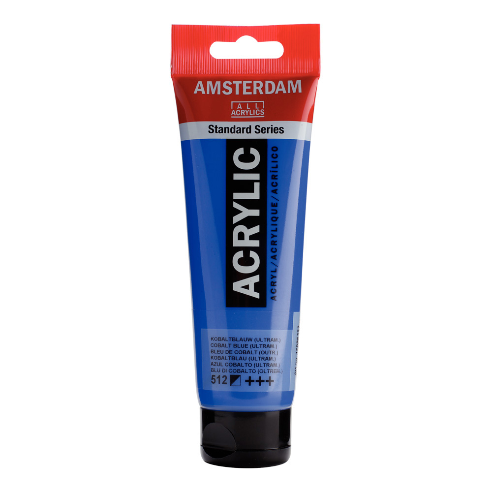 Amsterdam Acrylic 120Ml Cobalt Blue Ultra