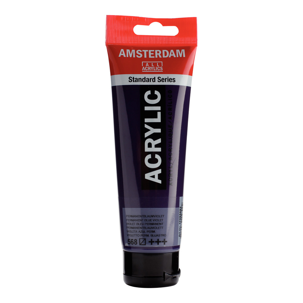 Amsterdam Acrylic 120Ml Permanent Blue Violet