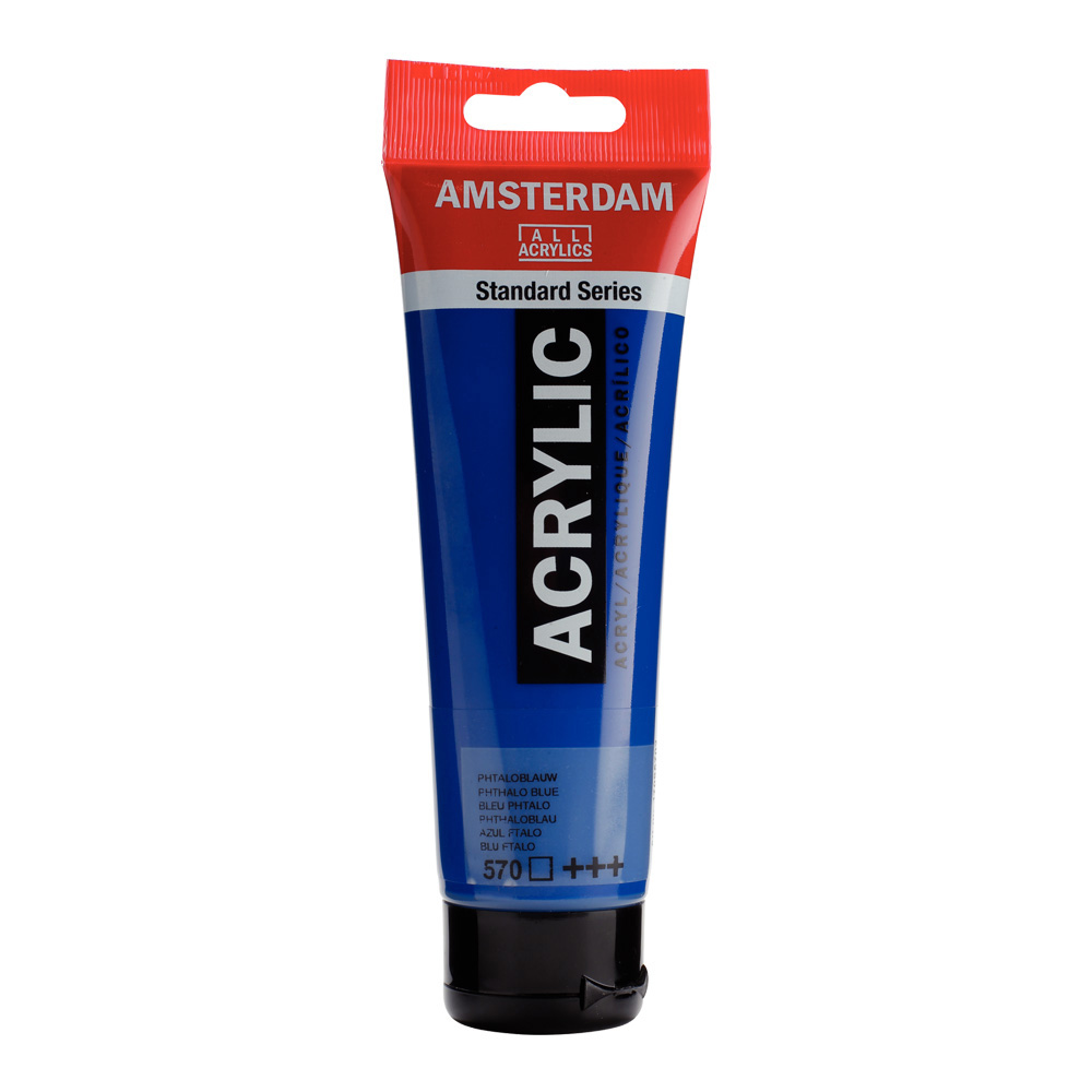 Amsterdam Acrylic 120Ml Phthalo Blue